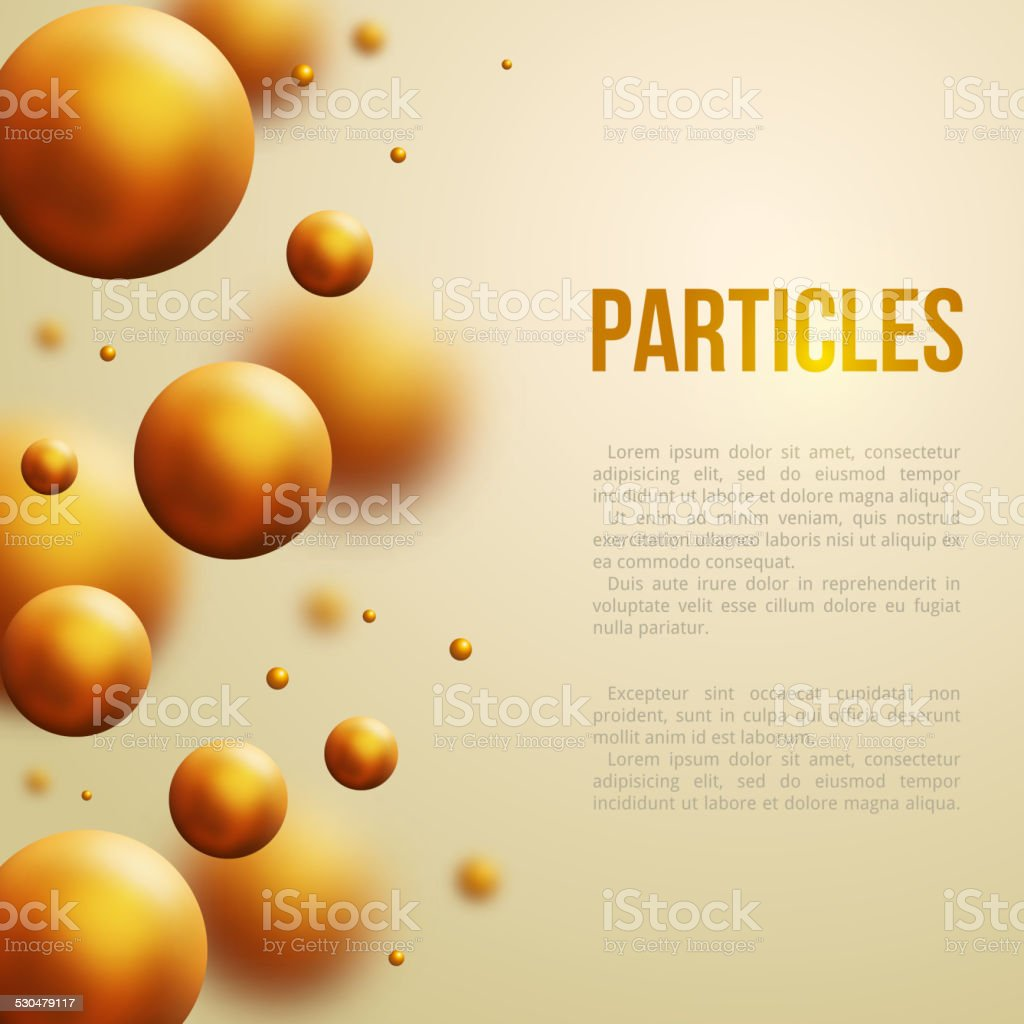 Abstract molecules design. Vector illustration. vector art illustration