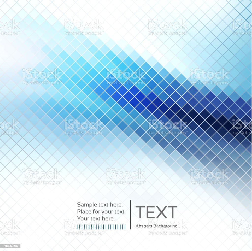Abstract mosaic background vector art illustration
