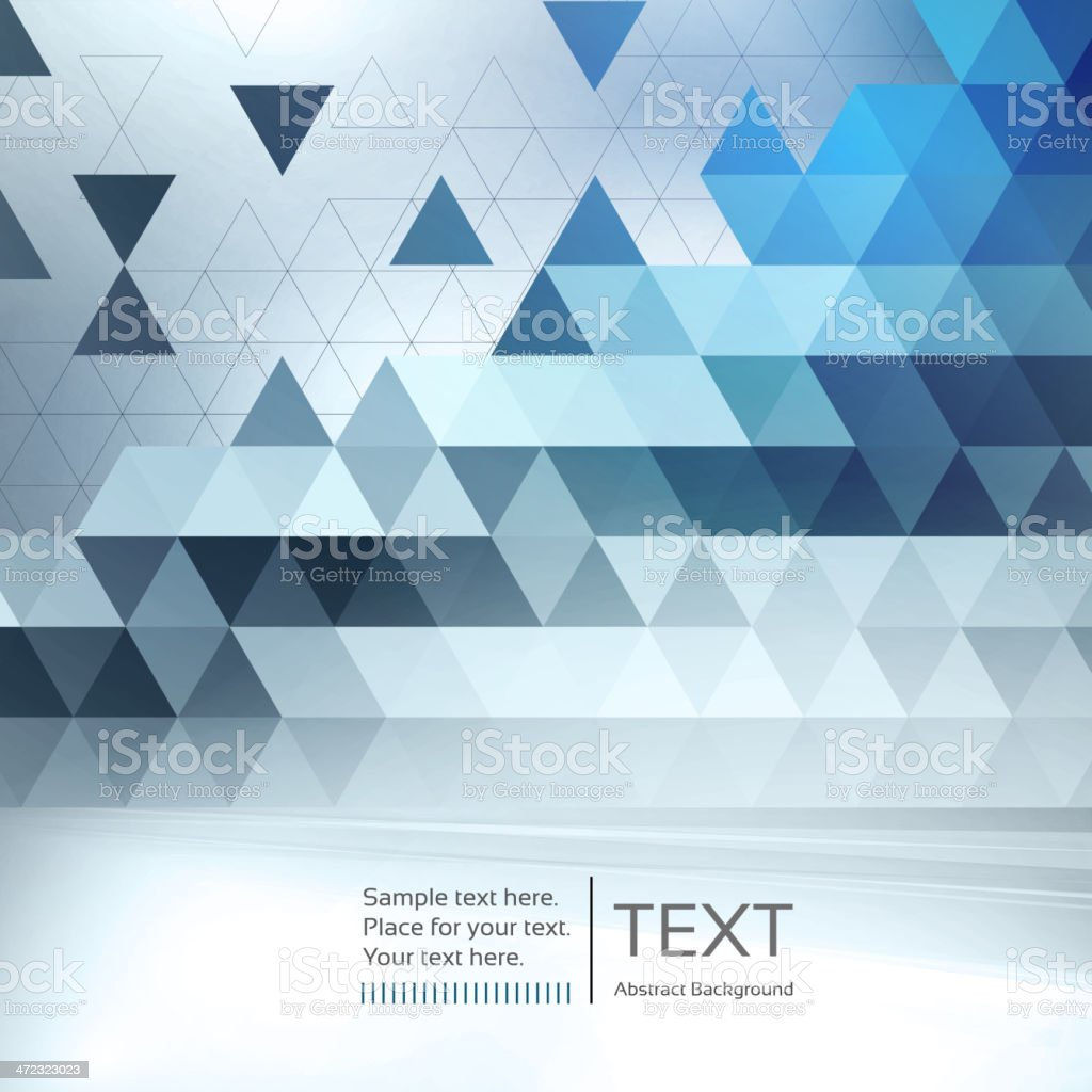 Abstract mosaic background royalty-free stock vector art