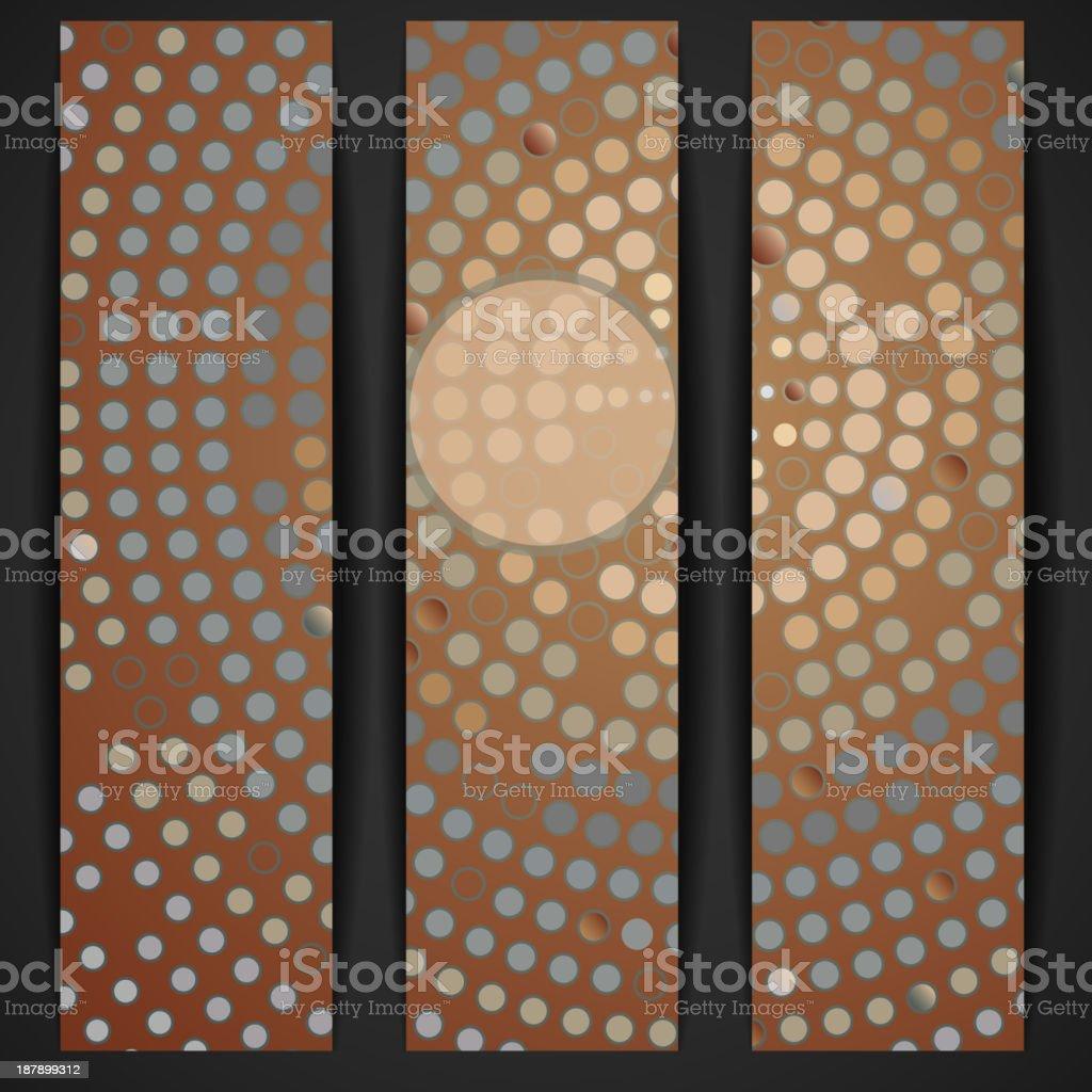 Abstract mosaic banner. royalty-free stock vector art