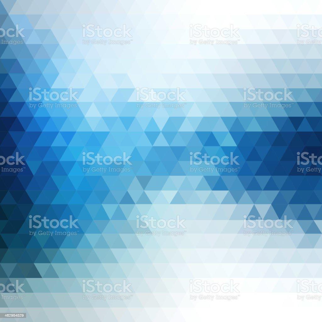 Abstract mosaic flow vector art illustration