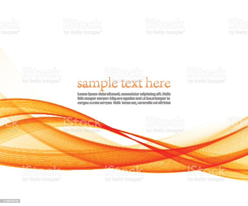 Abstract motion  wave illustration vector art illustration