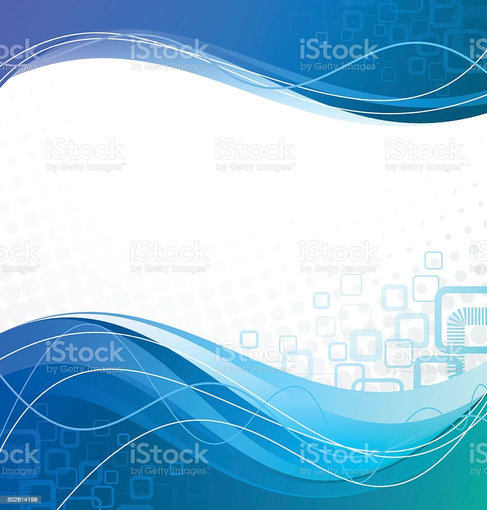 Abstract multi colored vector background with defocus lights vector art illustration