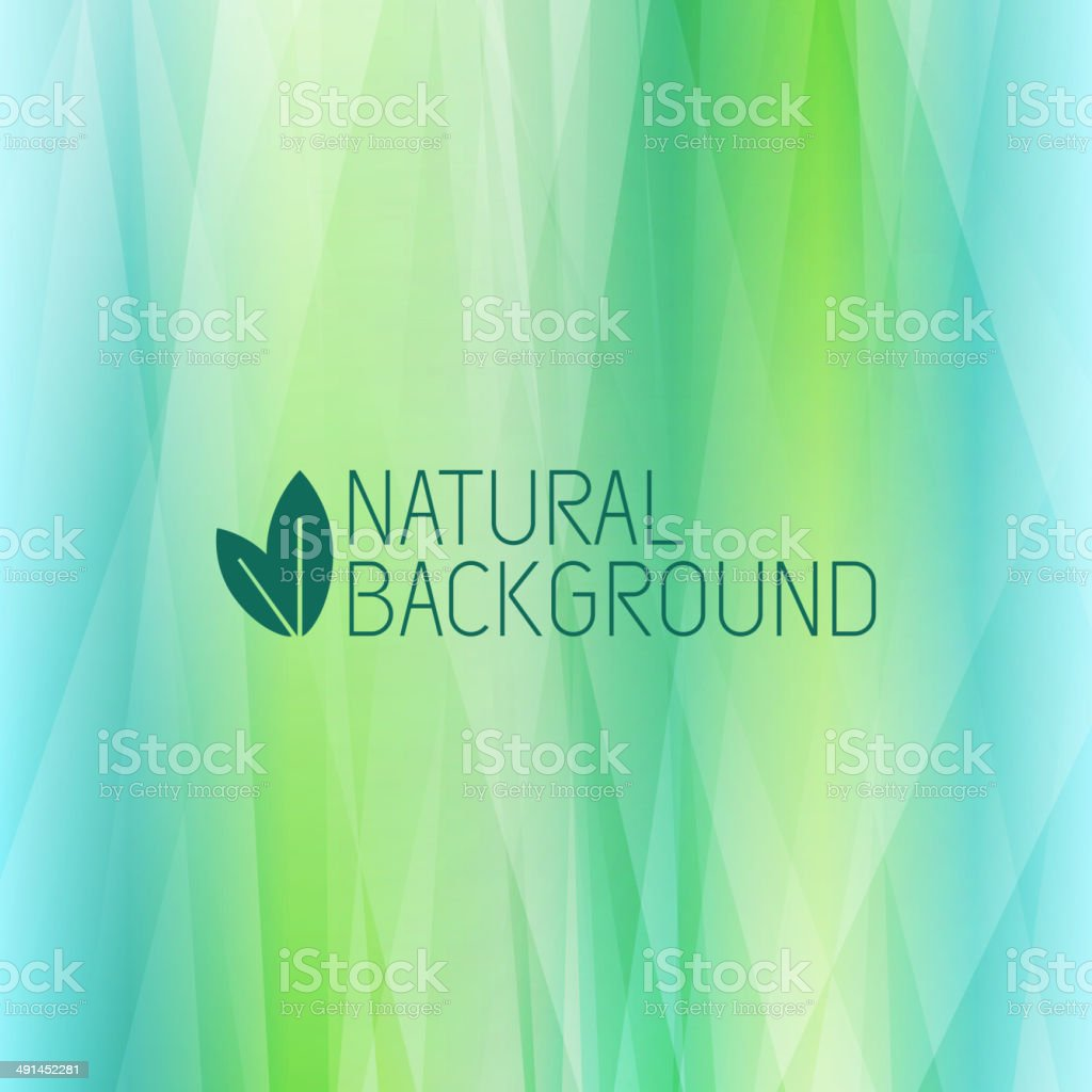 Abstract Natural Background vector art illustration