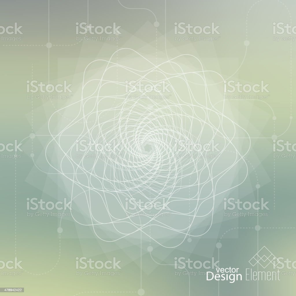 Abstract neat Blurred Background vector art illustration