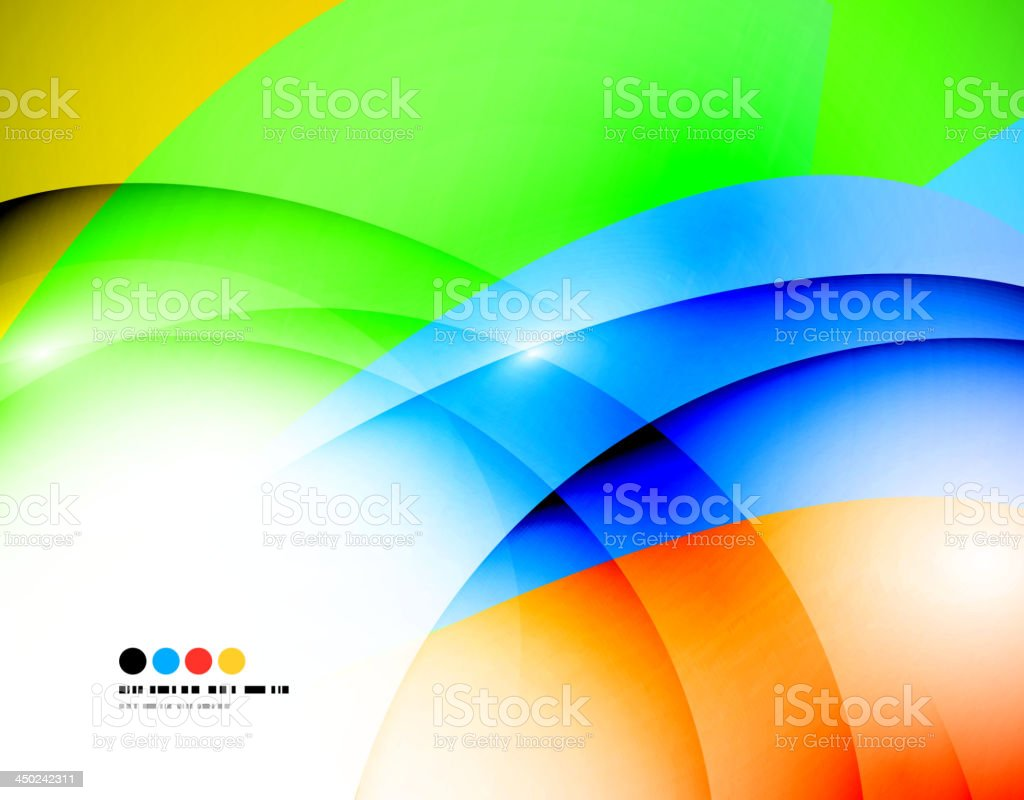 Abstract neon colors background royalty-free stock vector art