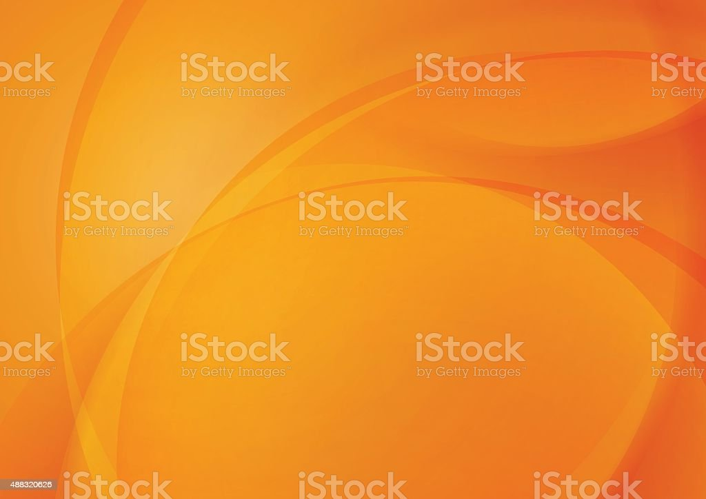 Abstract Orange Background for Design vector art illustration