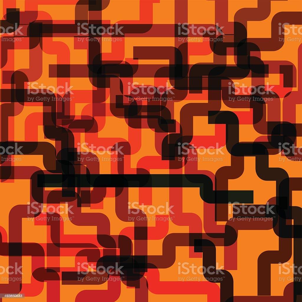 abstract orange stripe pattern background vector art illustration