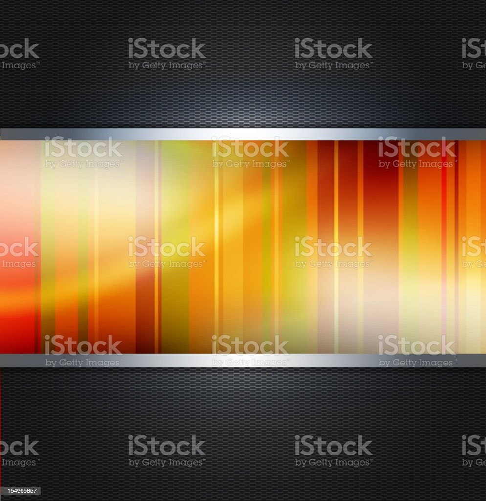 Abstract orange technology vector background royalty-free stock vector art