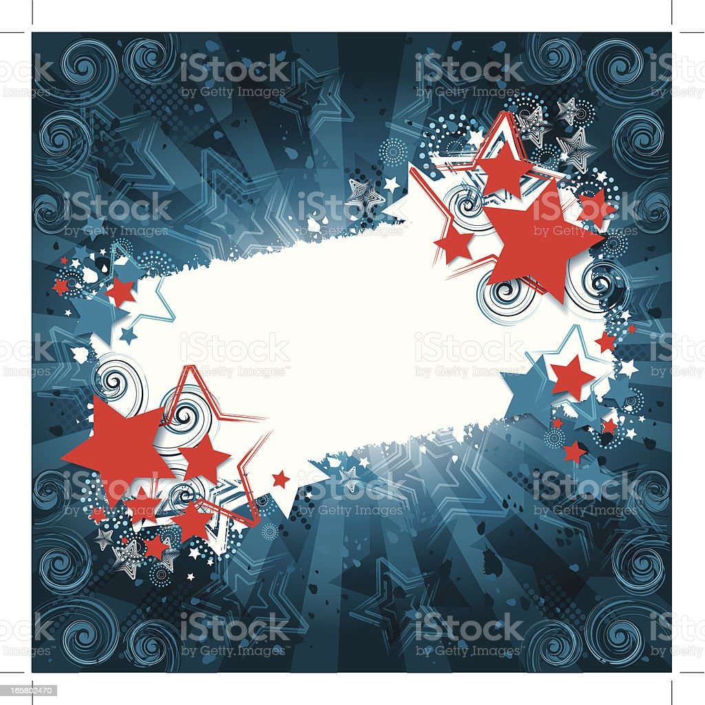 Abstract party background vector art illustration