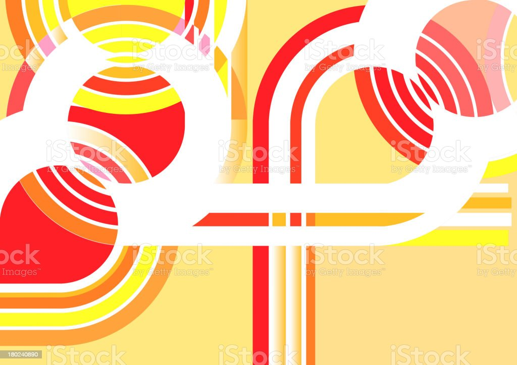abstract path shape background royalty-free stock vector art