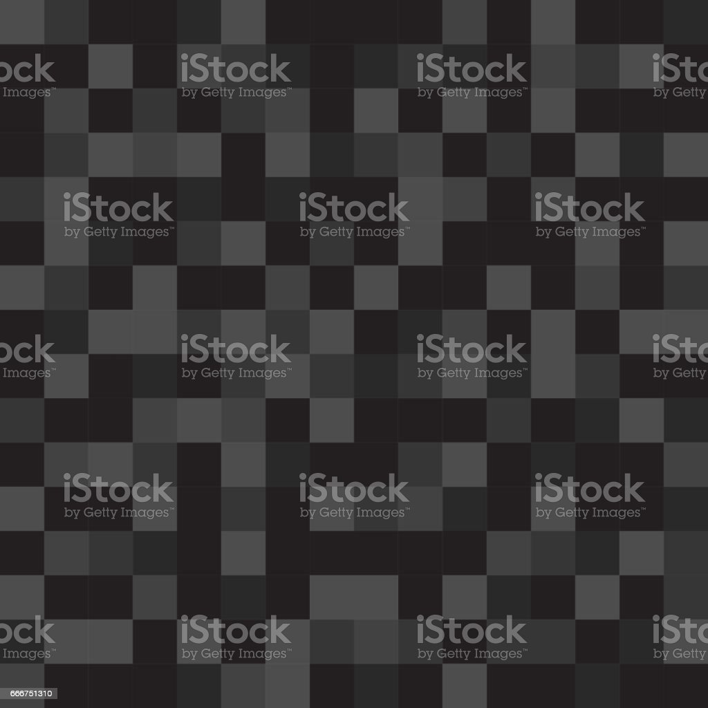 Abstract pattern, background of black monotonous squares in the same color palette for web sites. Flat style. Dark illustration. wallpaper. Mosaic vector art illustration