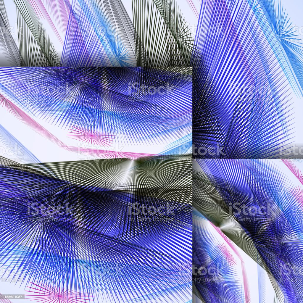 Abstract pattern of lines royalty-free stock vector art