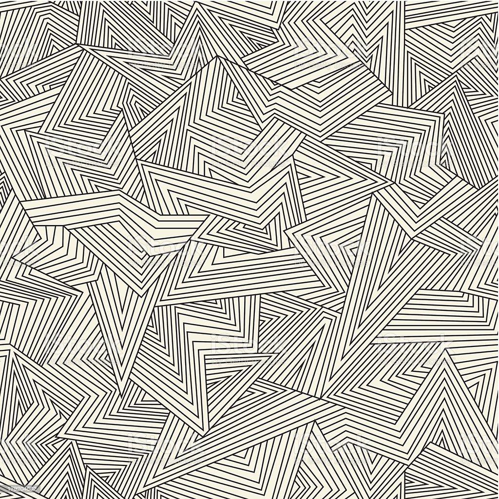 Abstract pattern vector art illustration