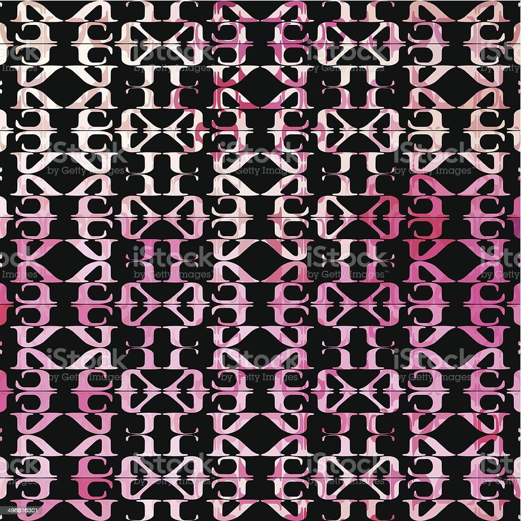 abstract pink pattern background vector art illustration