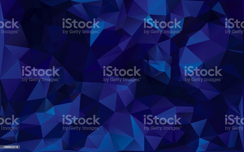 abstract poligonal background vector art illustration