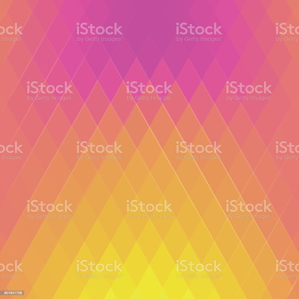 Abstract polygon background in modern style. vector art illustration