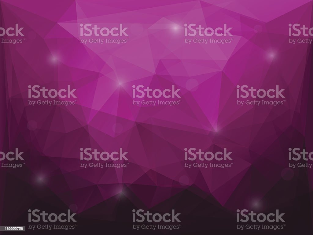 Abstract polygon background royalty-free stock vector art