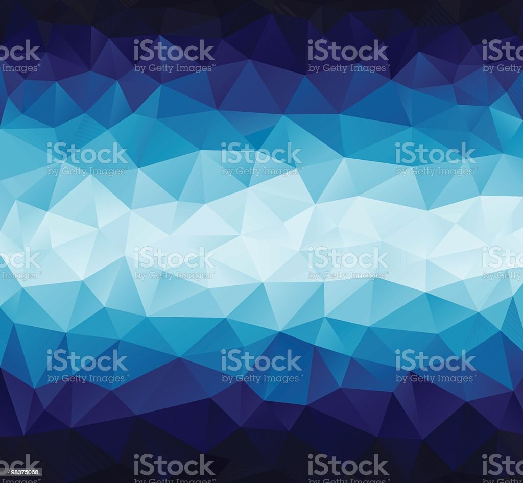 abstract polygonal background vector art illustration