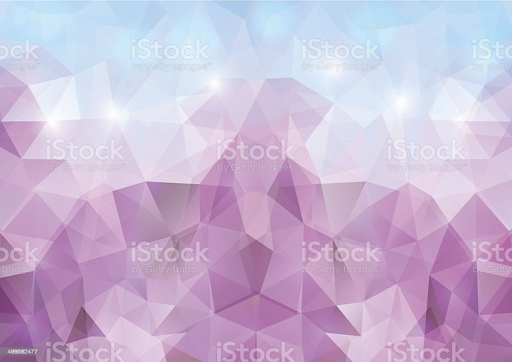 Abstract polygonal background royalty-free stock vector art