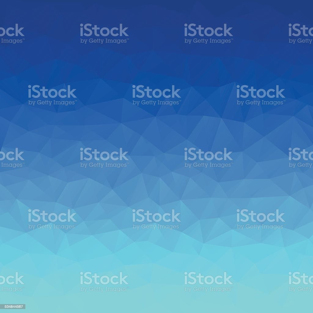 abstract  polygonal blue  background vector art illustration