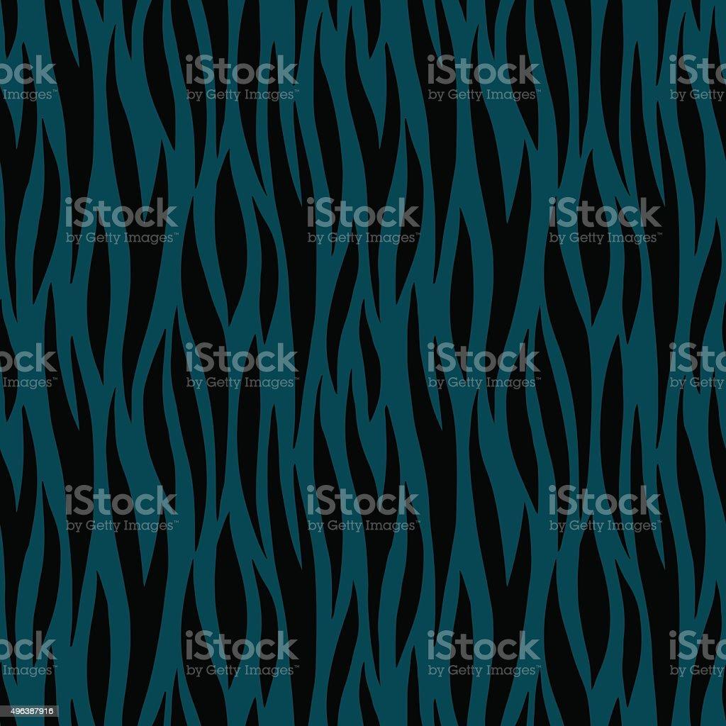 Abstract print animal dark seamless pattern vector art illustration
