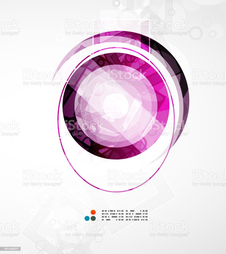 Abstract purple background royalty-free stock vector art