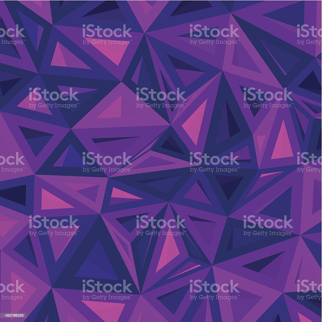 abstract purple geometry pattern background vector art illustration