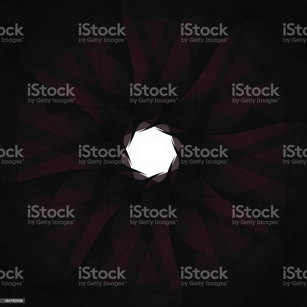 abstract purple rotate pattern technology background vector art illustration