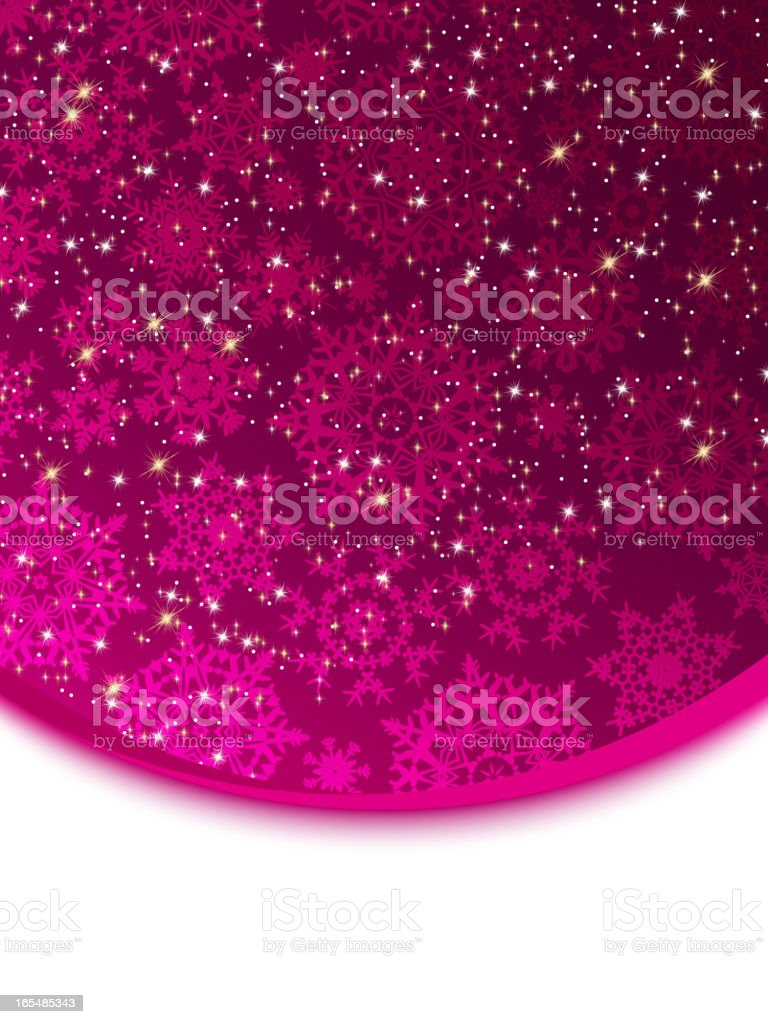 Abstract purple vector winter background. EPS 8 royalty-free stock vector art