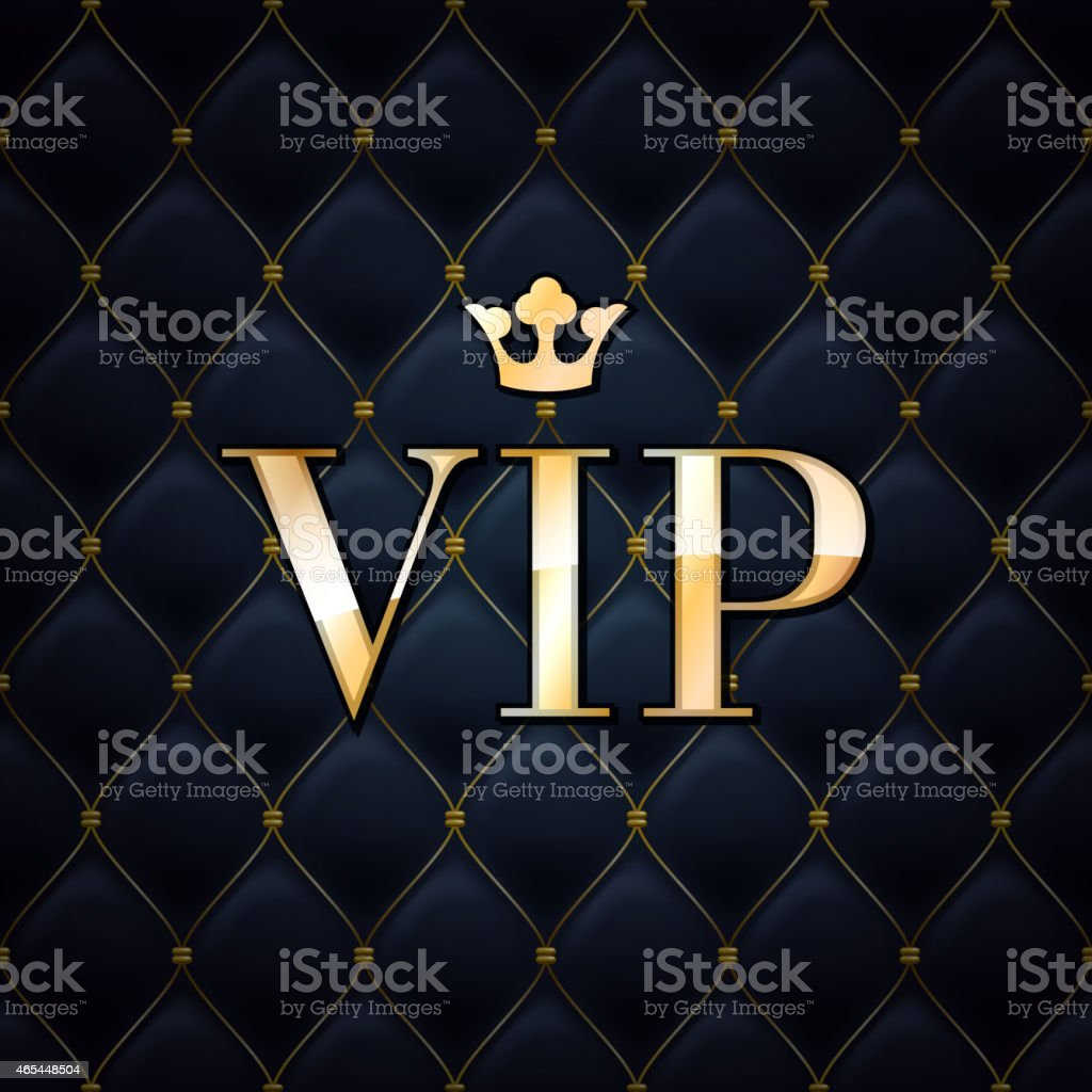 VIP abstract quilted background. vector art illustration