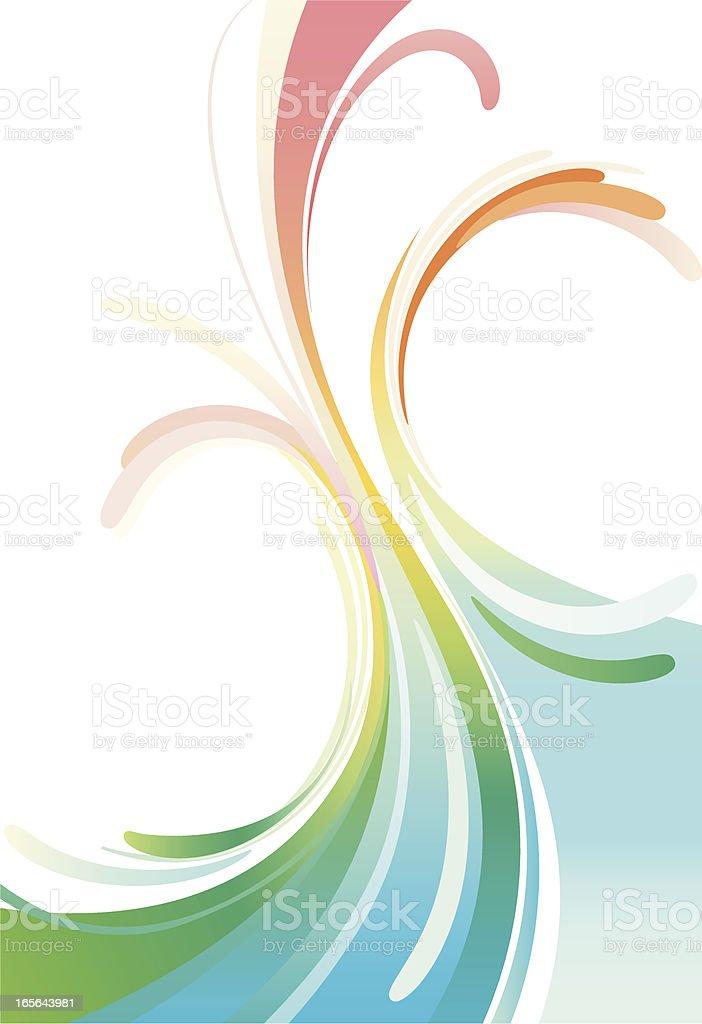 abstract rainbow royalty-free stock vector art