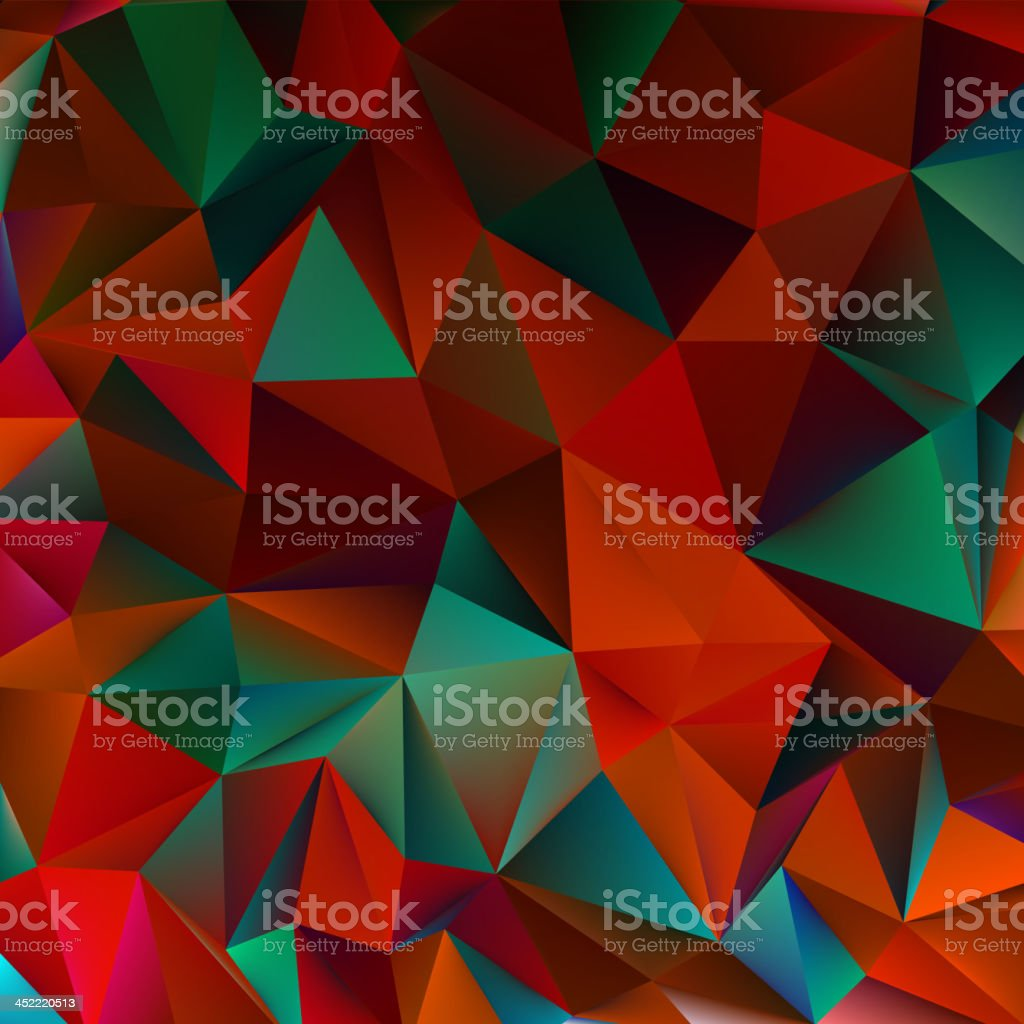 Abstract red and green. EPS 10 royalty-free stock vector art