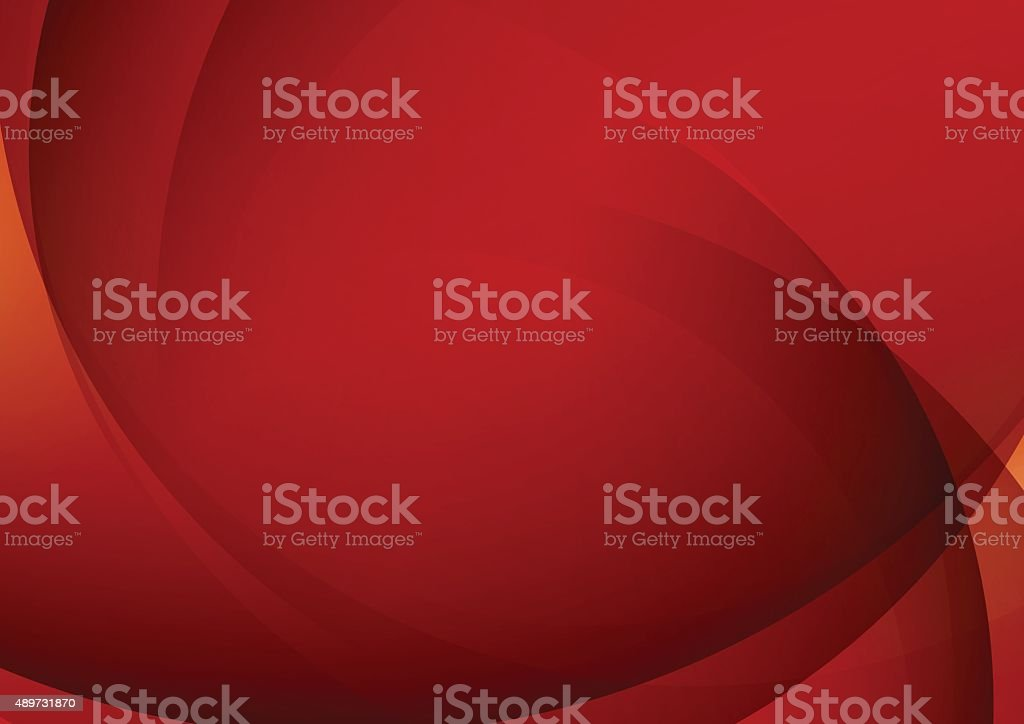 Abstract Red Background for Design vector art illustration