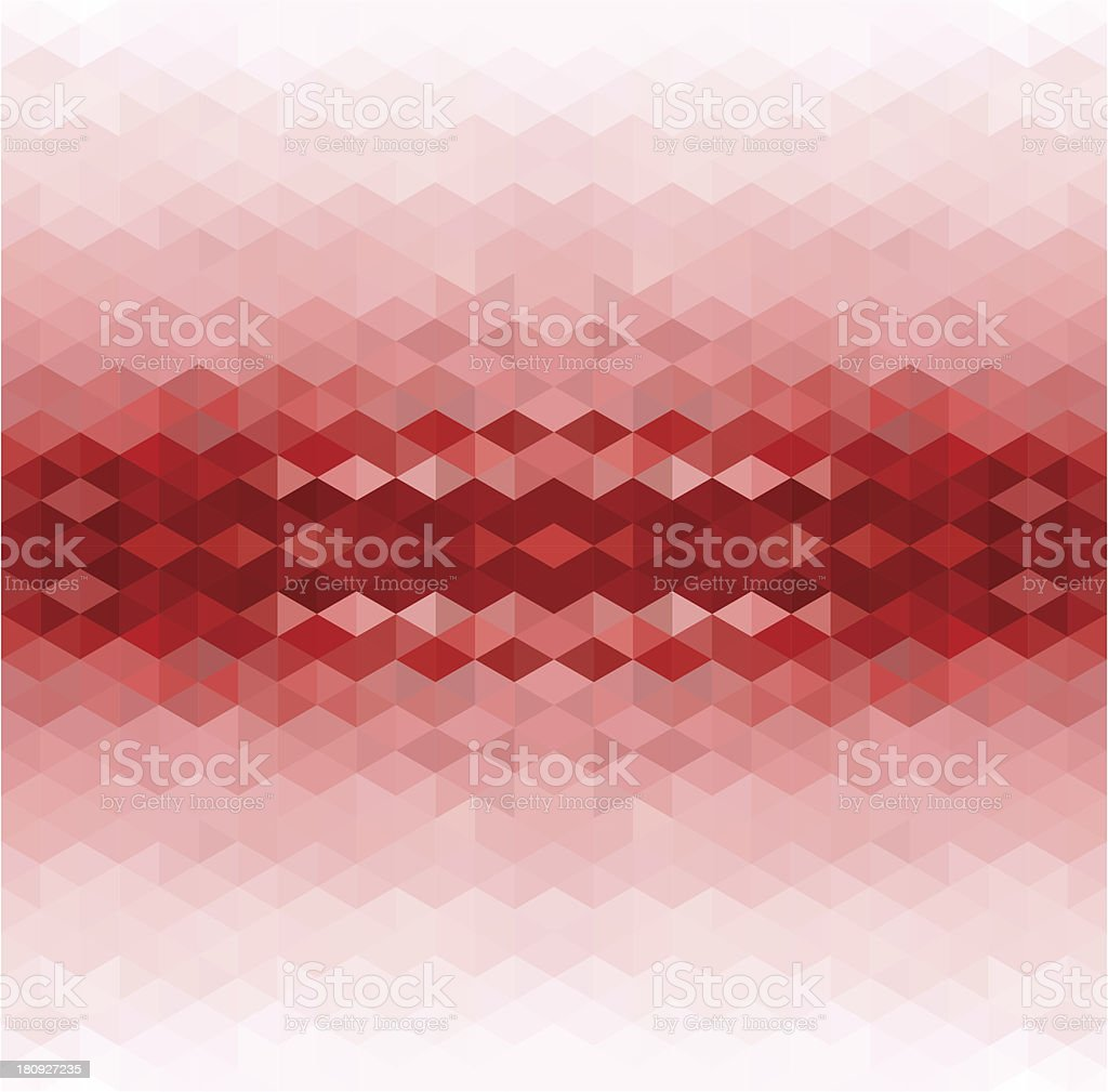 Abstract Red Background vector art illustration