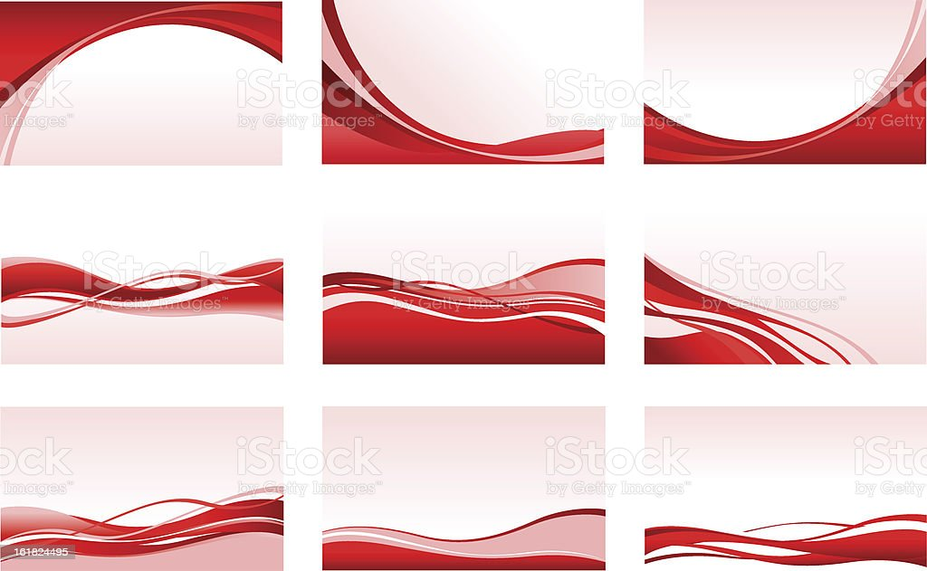 abstract red backgrounds vector art illustration