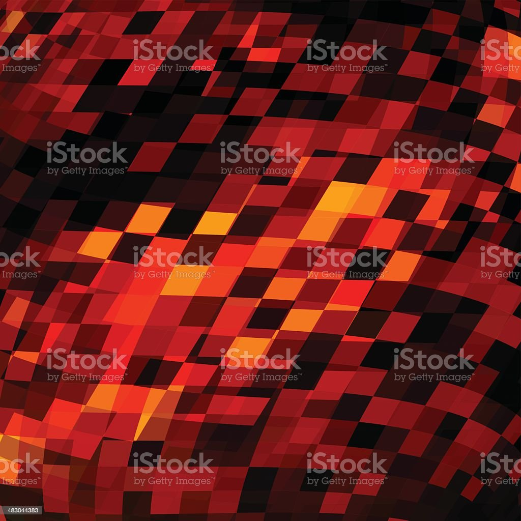 abstract red check pattern background royalty-free stock vector art