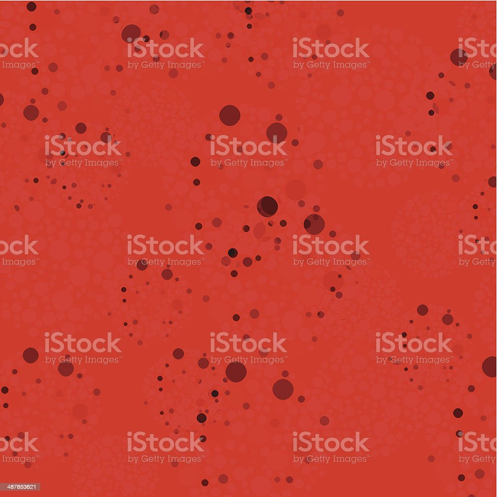 abstract red dots pattern background vector art illustration