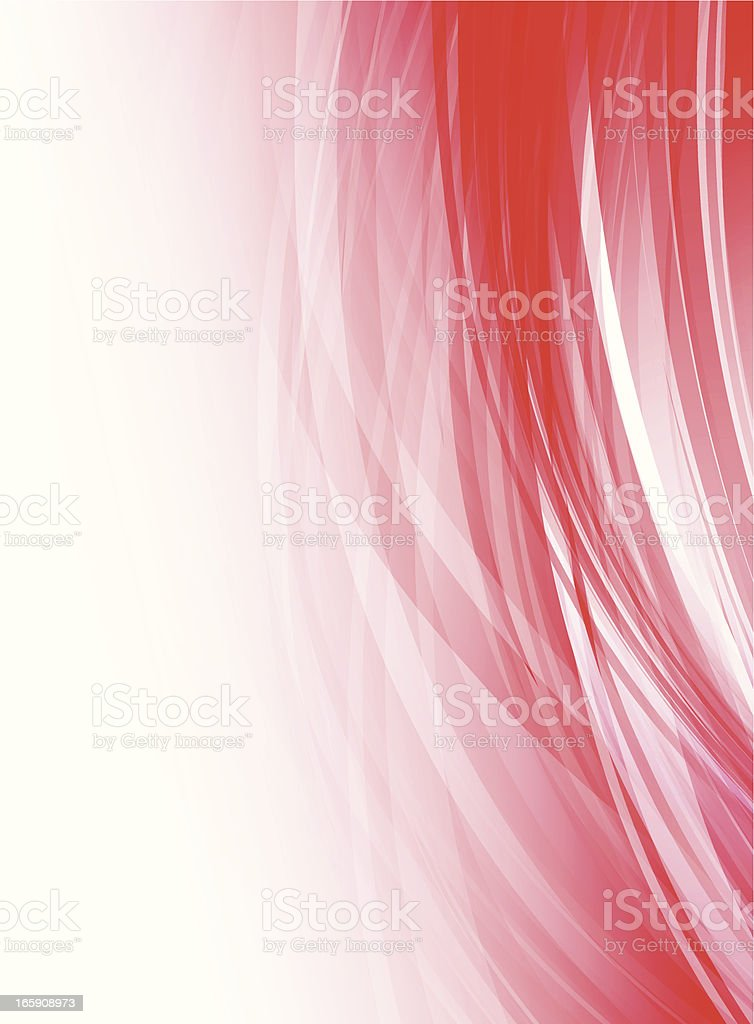 Abstract red lines royalty-free stock vector art