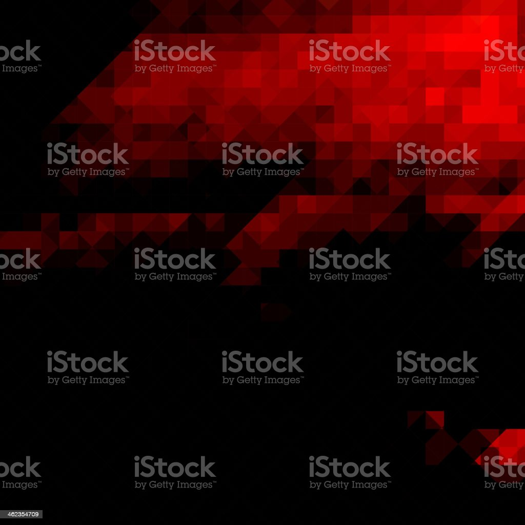 abstract red pattern background vector art illustration