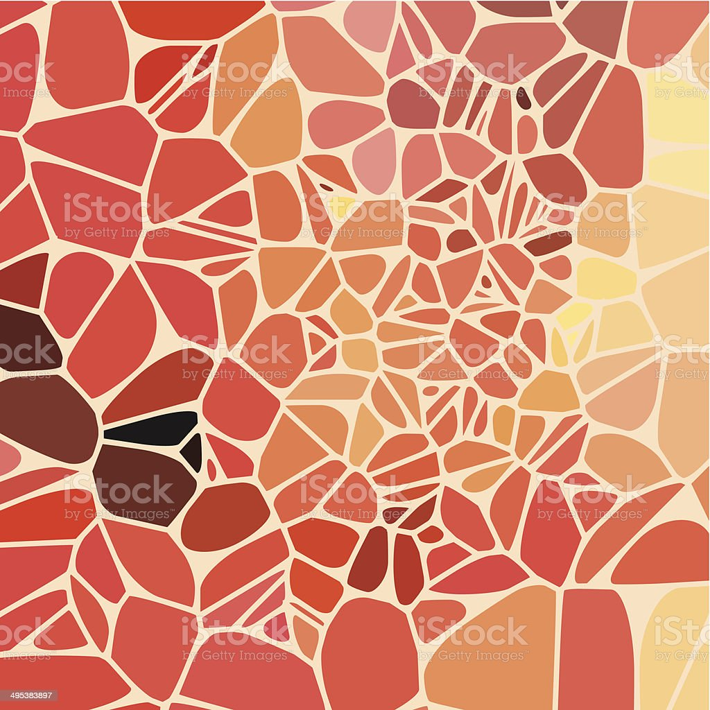 abstract red speckle shape background vector art illustration