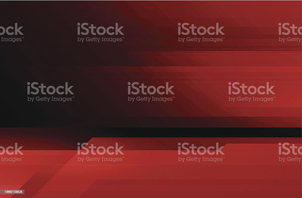 Abstract red technical background vector art illustration