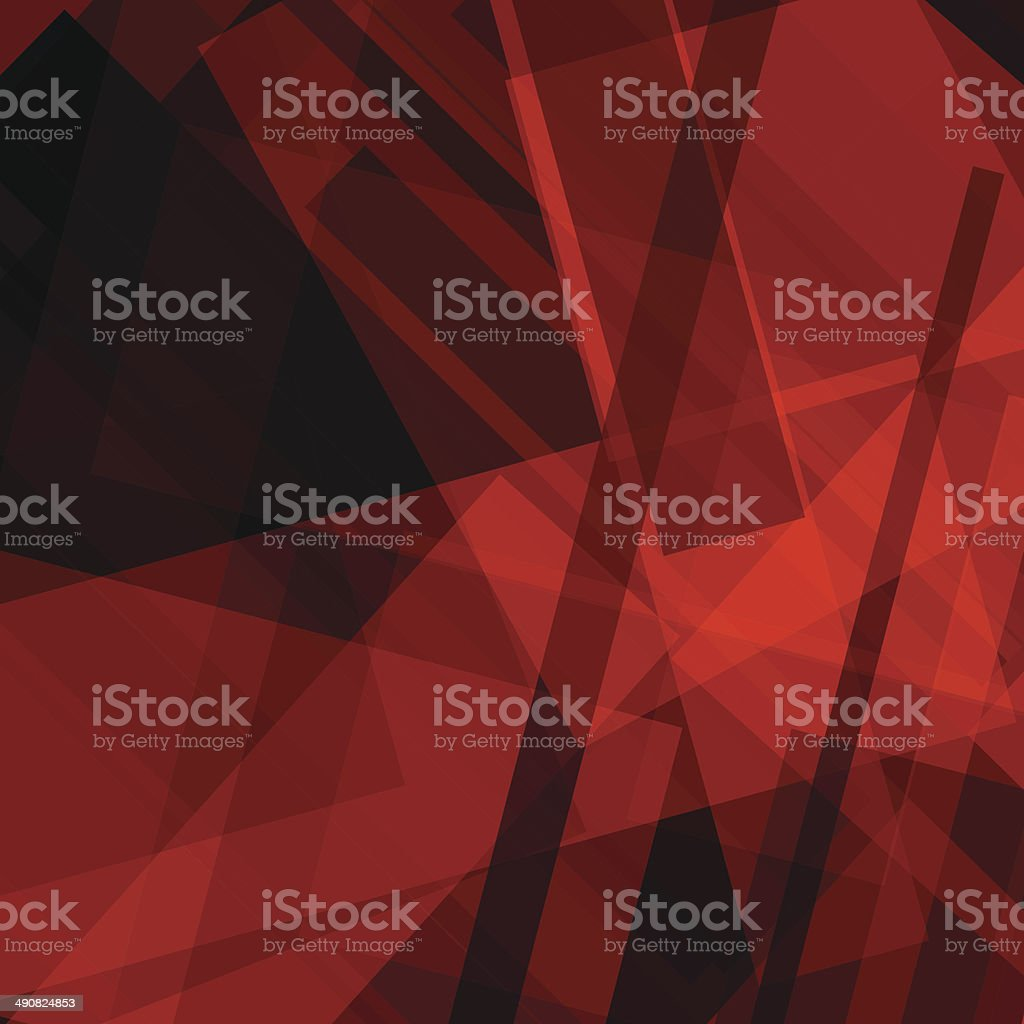 abstract red transparency stripe pattern background vector art illustration
