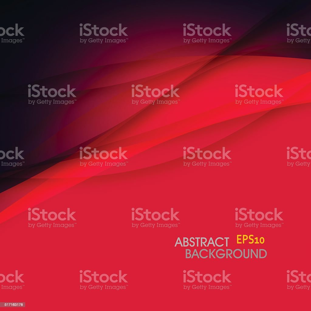 abstract red wave technology pattern background vector art illustration