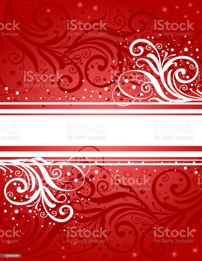 Abstract red-white background royalty-free stock vector art