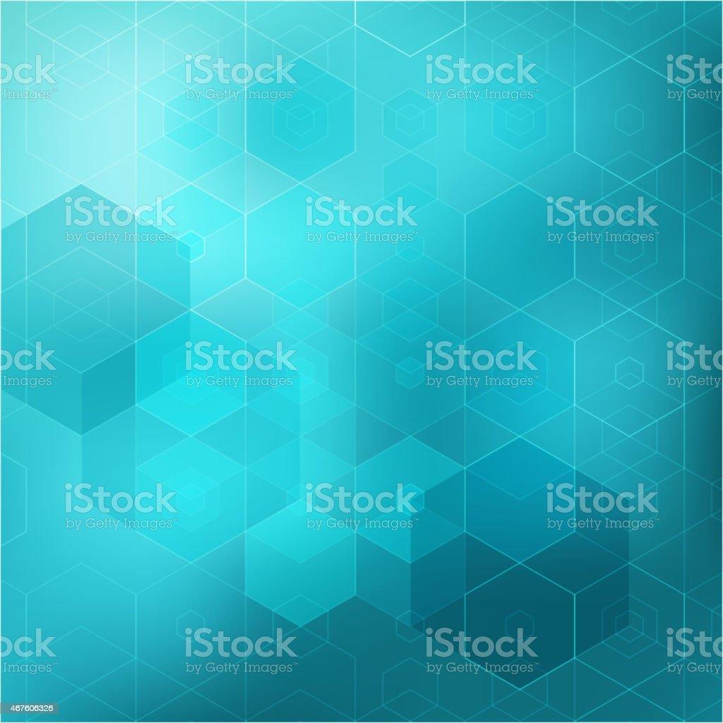 Abstract retro geometric background. Template brochure design vector art illustration