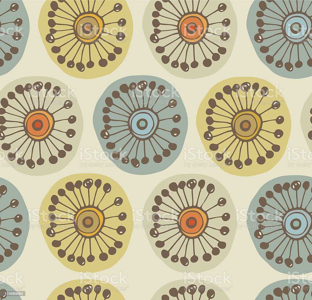Abstract scandinavian seamless pattern royalty-free stock vector art