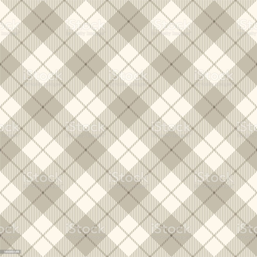 Abstract scottish diagonal plaid concept vector art illustration