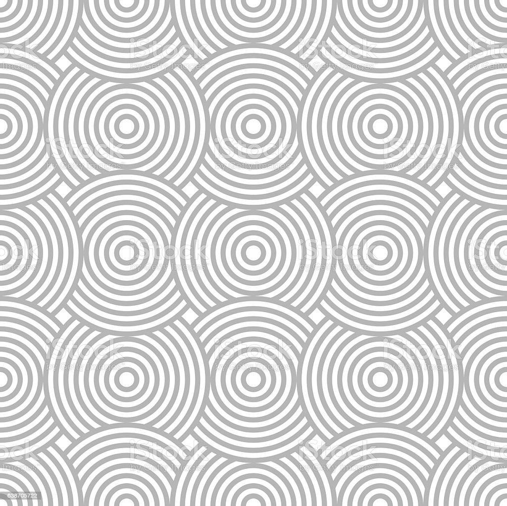 Abstract Seamless Background Pattern vector art illustration