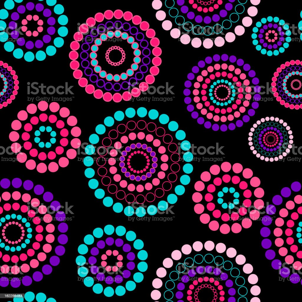 Abstract seamless background pattern. Vector illustration royalty-free stock vector art